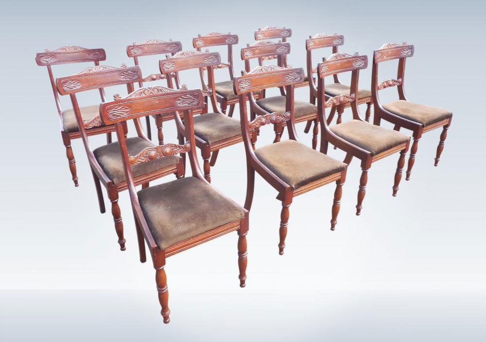 Product Name: Antique Dining Chairs Sets in Northamptonshire UK - Elisabeth James Antiques --- Products Catalog